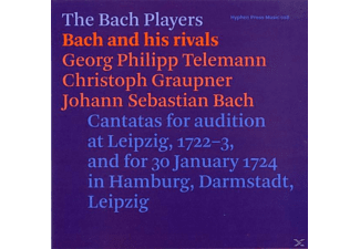 The Bach Players - Bach And His Rivals - (CD)