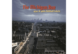 VARIOUS - The Michigan Box 1950s/1960s Oddball Labels (10-Cd - (CD)