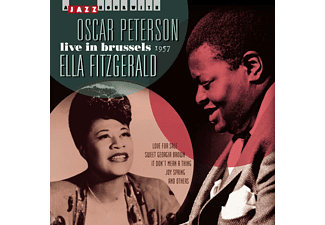 Oscar Peterson, Ella Fitzgerald - Live In Brussels-1957 - (CD)