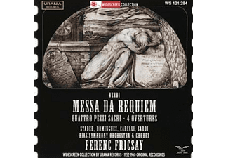 Fricsay/Stader/Dominguez/Carelli/Sardi/RIAS SO - Messa da Requiem - (CD)