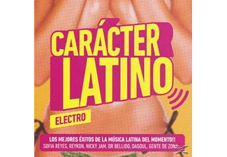 VARIOUS - Caracter Latino Electro - (CD)