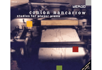Conlon (1912-1997) Nancarrow - Studies For Player Piano - (CD)