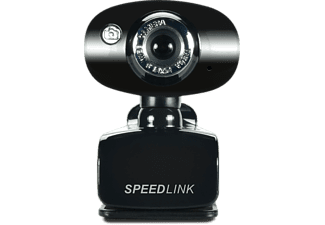 SPEEDLINK Snappy Smart-PC/Mac-webcam Zwart