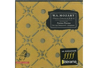 Anima Eterna - Clavier-Concerte 8,28 & 12 - (CD)