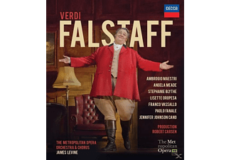 James Levine, Ambrogio Maestri - Falstaff (Blu-ray)