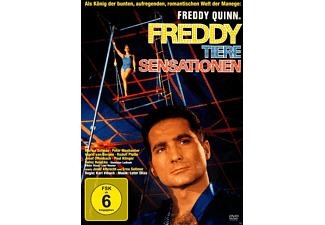 Freddy, Tiere, Sensationen - (DVD)