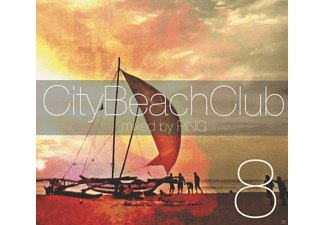 VARIOUS, Dj Ping - City Beach Club 8 - (CD)