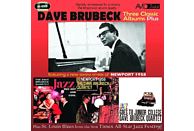 Dave Brubeck - Three Classic Albums Plus (Jazz Red Hot And Cool/Newport 195 [CD]