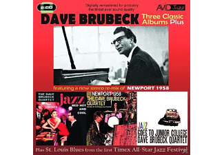 Dave Brubeck - Three Classic Albums Plus (Jazz Red Hot And Cool/Newport 195 - (CD)