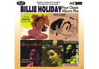 Billie Holiday - 4 Classic Albums Plus - (CD)