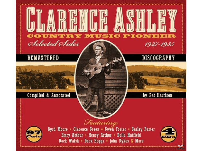 Clarence Ashley - Country Music Pioneer [CD]