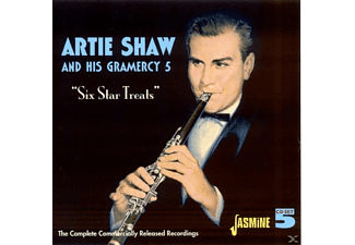 Artie & His Gramercy 5 Shaw - SIX STAR TREATS. COMPLETE COMMERCIA - (CD)