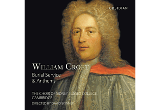 David Skinner, Cambridge The Choir Of Sidney Sussex College - Burial Service & Anthems [CD]