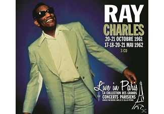 Ray Charles - Live In Paris 20-21 Octobre 1961/17-18-20-21 Mai - (CD)