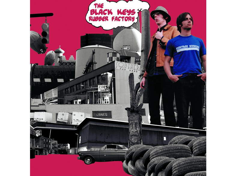 The Black Keys - Rubber Factory [Vinyl]