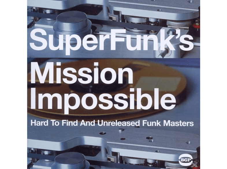 VARIOUS - Super Funk's Mission Impossible [CD]