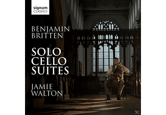 Jamie Walton - Solo Cello Suites - (CD)
