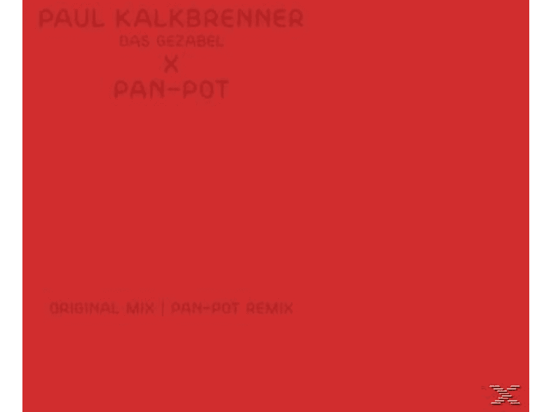 Paul Kalkbrenner - Das Gezabel (Pan-Pot Remix) [LP + Download]