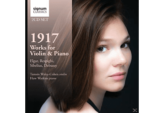 Tamsin Waley-cohen: Violin & Huw Wa - 1917-Works for Violin & Piano - (CD)