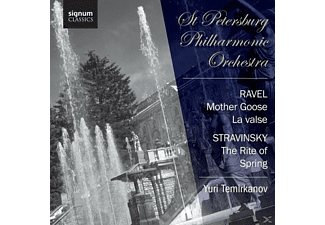 Temirkanov/St.Petersburg Philharmonic Orchestra - La Valse/Mother Goose/The Rite of Spring - (CD)