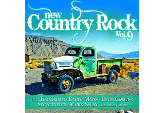 VARIOUS - New Country Rock Vol.9 - (CD)