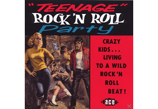VARIOUS - Teenage Rock'n'roll Party - (CD)