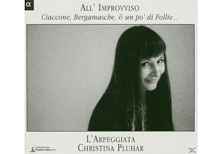 Trovesi - All Improviso-Ciaccone, Bergamasche&Un Po' Di Folli - (CD)