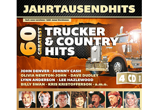 VARIOUS - 60 Greatest Trucker & Country Hits - (CD)