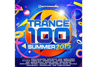 VARIOUS - Trance 100 - Summer 2015 - (CD)