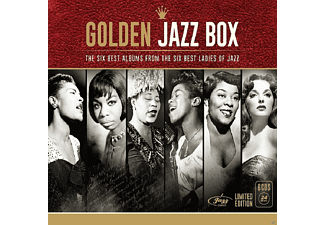 VARIOUS - Golden Jazz Box (Ladies Of Jazz) - (CD)