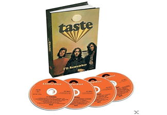 Taste - I'll Remember (4-CD Boxset) - (CD)