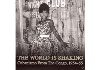 VARIOUS The World Is Shaking: Cubanismo From The Congo 1954-1955 (LP) Weltmusik Vinyl