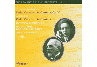 Brabbins, Bbcs, A. Marwood - Romantic Violin Concerto V.05 - (CD)