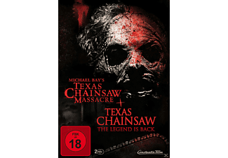 Michael Bay's Texas Chainsaw Massacre & Texas Chainsaw The Legend ist Back - (DVD)