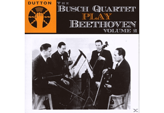 The Busch Quartet - PLAY BEETHOVEN, VOL.2 - (CD)