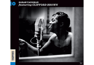 Sarah Vaughan - With Clifford Brown - (CD)