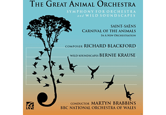 Martin Brabbins, Bbc No Of Wales - The Great Animal Orchestra - (CD)