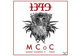 1349 - Massive Cauldron Of Chaos (Ltd.Red Vinyl Incl.Po - (Vinyl)