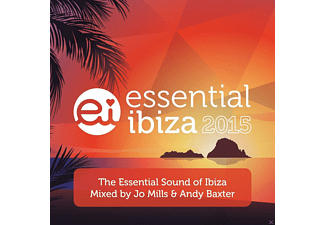 Jo Mills, Andy Baxter, VARIOUS - Essential Ibiza 2015 - (CD)
