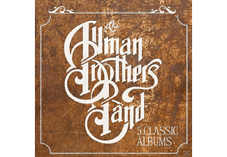 The Allman Brothers Band - 5 Classic Albums [CD]