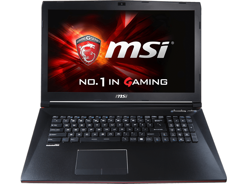 MSI GP72-2QEi781FD Leopard Pro, Gaming Notebook mit 17.3 Zoll Display, Core™ i7 Prozessor, 8 GB RAM, 1 TB HDD, GeForce GTX 950M, Schwarz