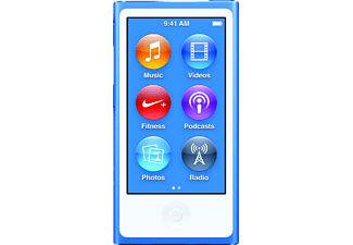 APPLE iPod nano 16GB Blue - (MKN02QB/A)