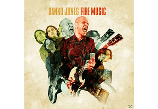 Danko Jones - Fire Music (Lim.Yellow Vinyl) - (Vinyl)
