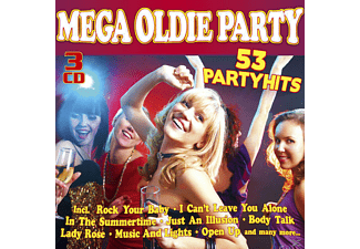 VARIOUS - Mega Oldie Party - (CD)