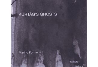 Marino Formenti - Kurtag's Ghosts - (CD)
