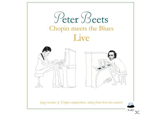 Peter Beets - Chopin Meets The Blues Live - (CD)