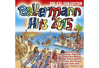 VARIOUS - Ballermann Hits 2015 (XXL Fan Edition) [CD]
