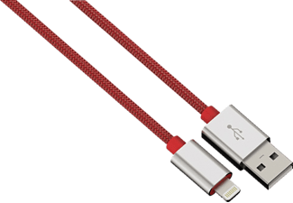HAMA Color Line USB Kabel, Rot