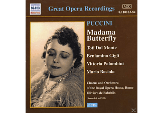 VARIOUS, Fabritiis, Gigli, Dal Monte, Fabritiis/Dal Monte/Gigli/+ - Madame Butterfly - (CD)
