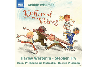 Stephen Royal Philharmonic Orchestra & Fry, Westenra/Fry/Wiseman/RPO - Different Voices - (CD)